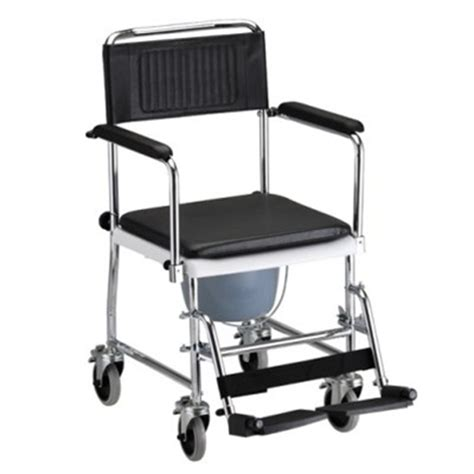 rolling shower transport chair 8805 drop arm shower commode wheelchair rolling