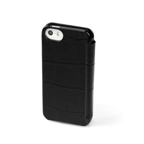 Fedon 1919 P Iphone 5s Flap Leather Fedon 1919 P Iphone 5s Credit Card Flap Croco Leather