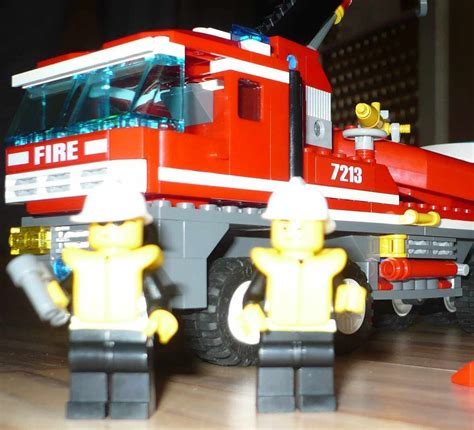 lego boat and truck lego city 7213 off road fire truck and fireboat i