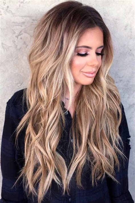 14 ways to style long haircuts with layers 13 ilove