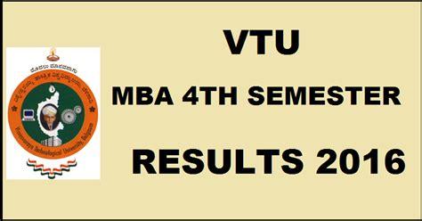 Vtu Mba 1st Sem Results by Vtu Mba 4th Sem Results 2016 Vtu Ac In To Be Declared