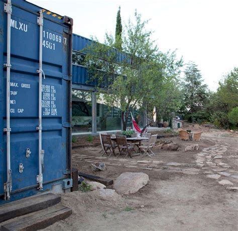 container haus baugenehmigung modern home built using four shipping