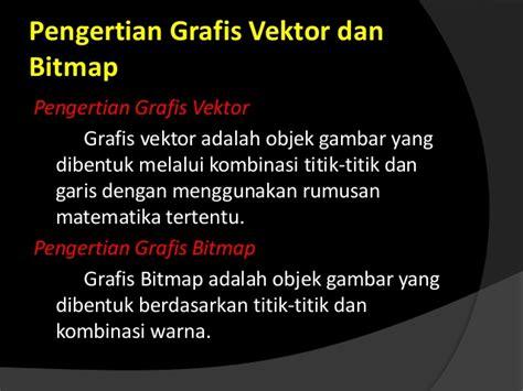 format gambar berbasis vektor dalam bidang desain grafis powerpoint