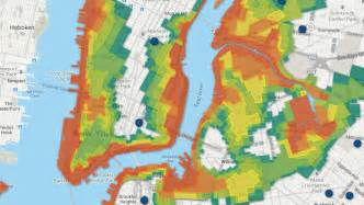 flood maps nyc s newest flood zones map animal