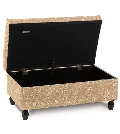ottoman storage chest luxury bedding by eastern accents fellows amber storage