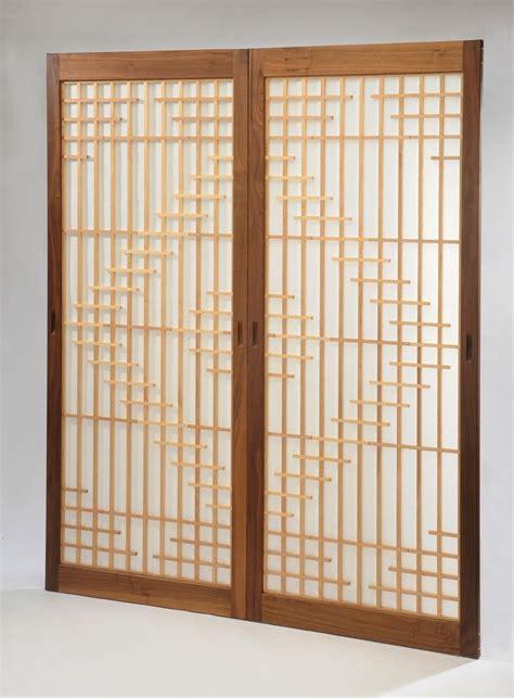 shoji window treatment handmade japanese shoji doors by b co custommade