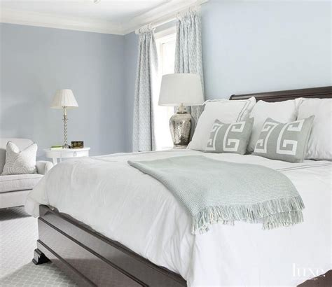 blue white and grey bedroom blue bedroom with gray accents transitional bedroom