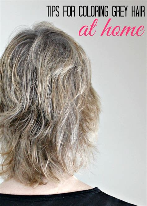 coloring hair at home tips for coloring grey hair at home the socialite s closet