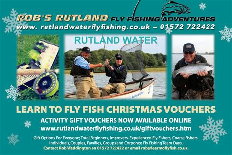 fly fishing gift vouchers last minute rutland fly