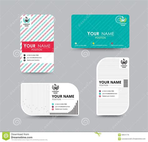 name card design template business name card design for corporation card template
