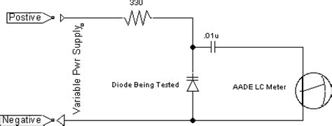how to test diodes on a circuit board biased diodes www hoaglun