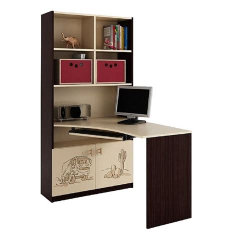 bookcases desk combination minimalist yvotube