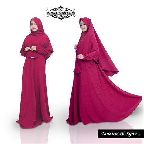 Sale Defasya Mukenah Marun Distributor supplier baju muslim terbaru