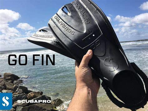 Scubapro Fin Go Travel scubapro s new barefoot fin design targets world travellers