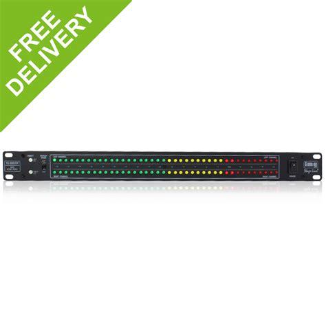Led Vu Display stage line vu800 sw led audio db vu display level monitor
