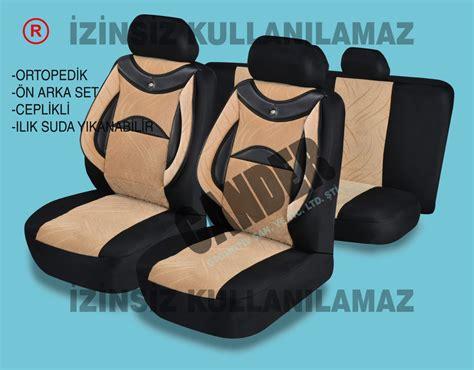 ortopedik destekli koltuk kilifi takimi  araca uyumlu