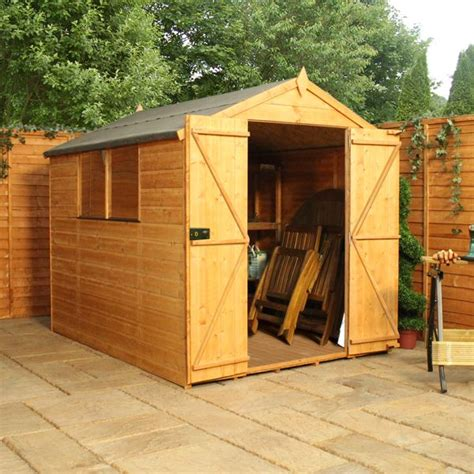 Waltons Shed by 8 X 6 Waltons Tongue And Groove Door Apex Wooden