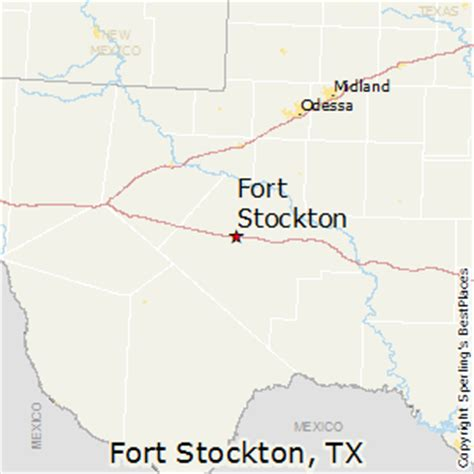 fort stockton texas map best places to live in fort stockton texas