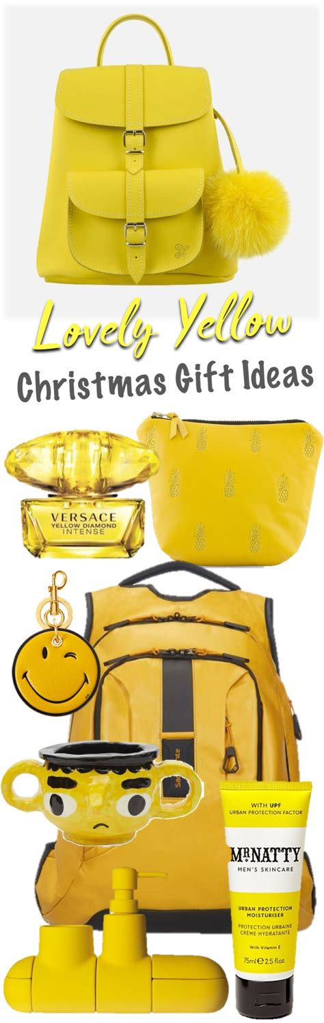 yellow soft christmas gift lovely yellow gift ideas homegirl