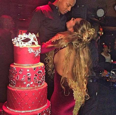 erica mena and bow wow family last night shad moss aka bow wow threw a huge masquerade