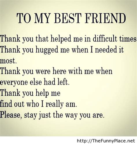 message to friend message best friend thefunnyplace