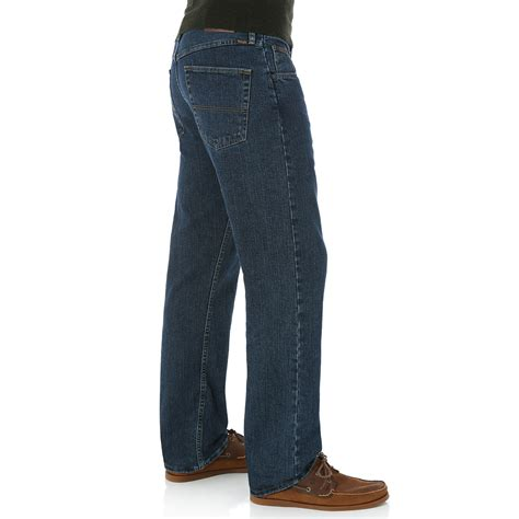 wrangler comfort fit jeans mens genuine wrangler men s advanced comfort regular fit jeans