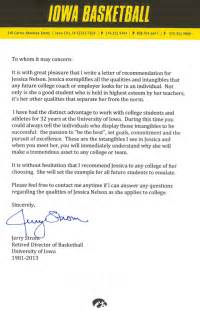 Cheerleading Coach Cover Letter by College Recommendation Letter From Cheer Coach Cover Letter Templates