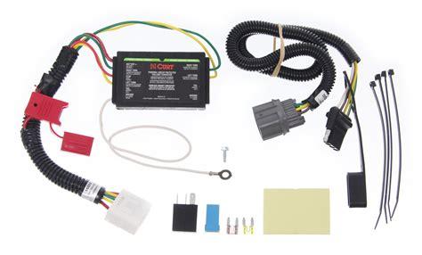 curt custom fit vehicle wiring for honda pilot 2011 c56086
