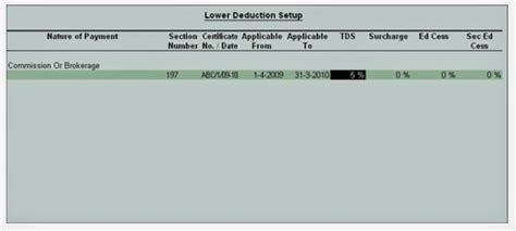 tds deduction section ca updates tax deducted at source tds setup and
