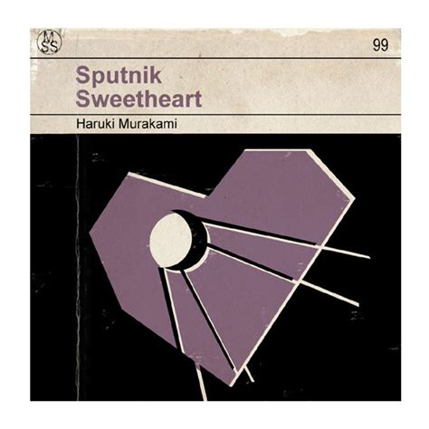 6x6 sputnik sweetheart classic vintage book cover print