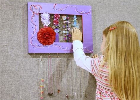 handmade hair accessories wall frames a unique diy