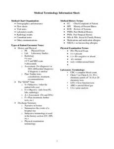 10 best images of medical chart note abbreviations