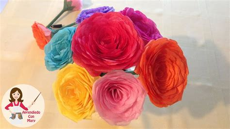 adorno de flores de papel centro de mesa