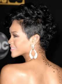 rihanna hairstyles front and back rihanna hairstyles short front and back