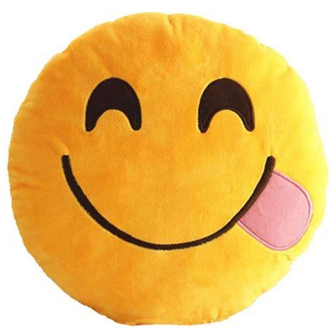 emoji yummy 35cm round emoji yummy pillows cushions soft stuffed plush