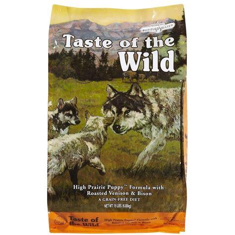 taste of the high prairie formula w roasted venison