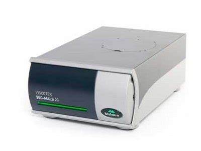 multi angle light scattering viscotek sec mals 20 multi angle light scattering detector