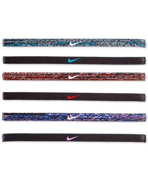 Mini Hairband Nike nike active mini headband set in blue lyst