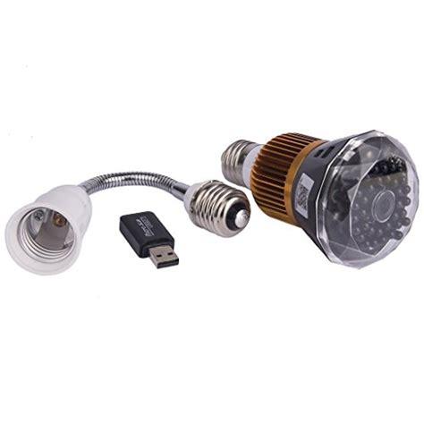 Kamera Pengintai Mini Dv Infrared 1080p 12megapixel T4000 wifi wireless hd 1080p led light bulb mini dv pinhole
