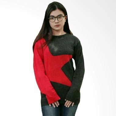 Blue Tribal Rajut jual sweater wanita terbaru 2018 modis model terbaru