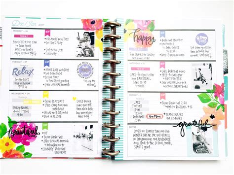 planner layout jumping in the big delightful gold horizontal happy planner 174 me my big ideas