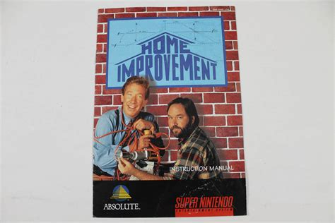 manual home improvement snes nintendo