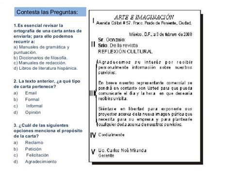 carta formal sobre los baches cartas formales e informales 1 ero