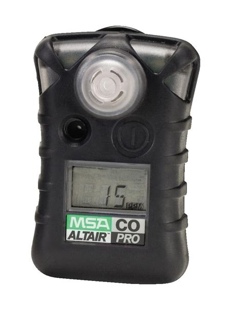 Alarm Gas Detector msa altair pro single gas detector alternate set point