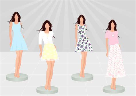 design clothes in computer women dress free women dress templates