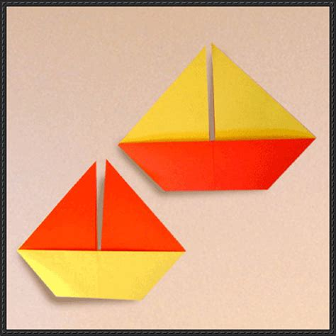 Paper Craft Square - papercraftsquare new paper craft how to make a sail