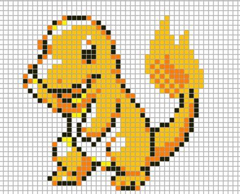 charmander pixel template charmander by hama on deviantart