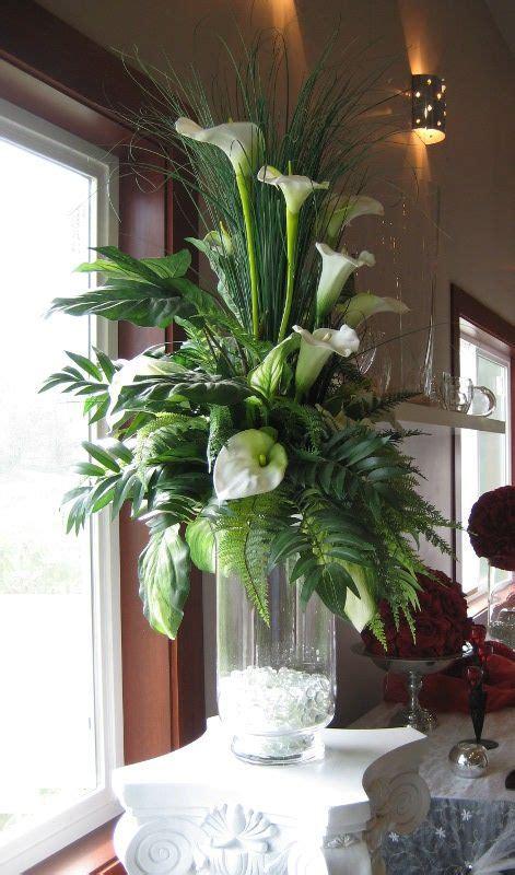 Floor Vase Arrangement by Cylinder Vase Arrangements Flower Arrangement In