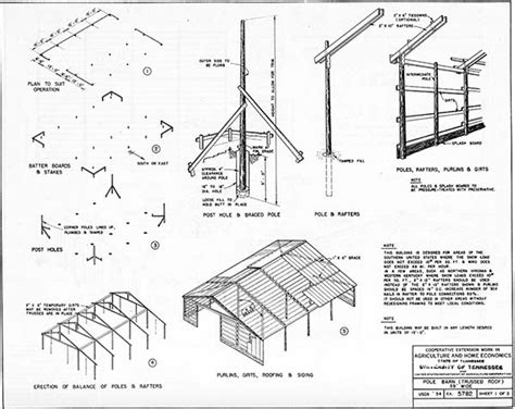 pole barn post spacing and size tables 153 pole barn plans and designs that you can actually build