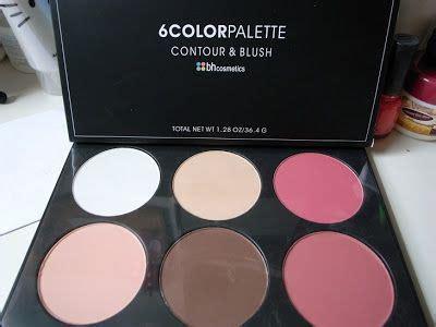 Bh Cosmetics 6 Color Palette Contour Blush 2 bh cosmetics contour and blush 6 color palette reviews